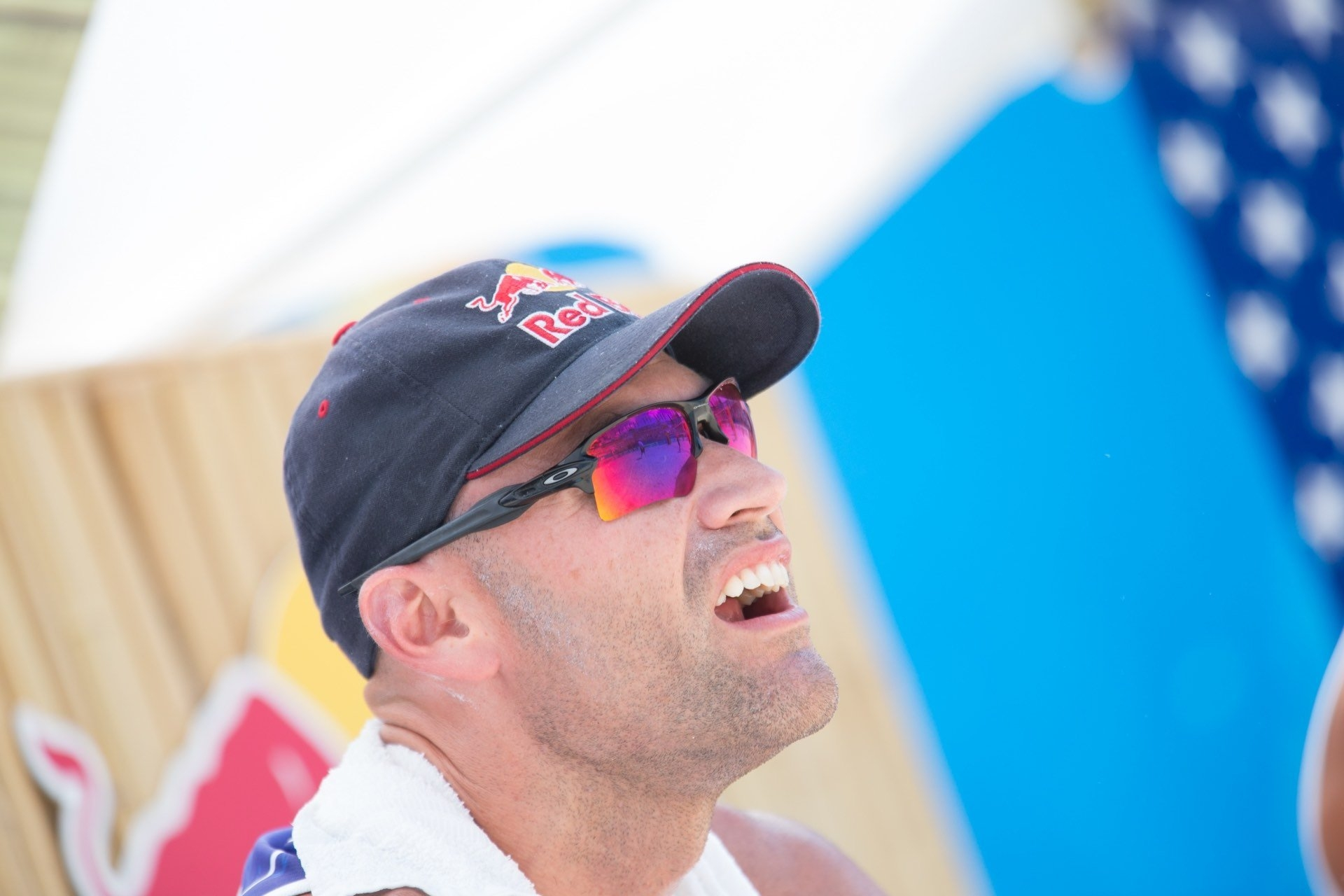 When was the last time I applied sunscreen? Doesn't matter… YOLO. Photocredit: Phil Dalhausser