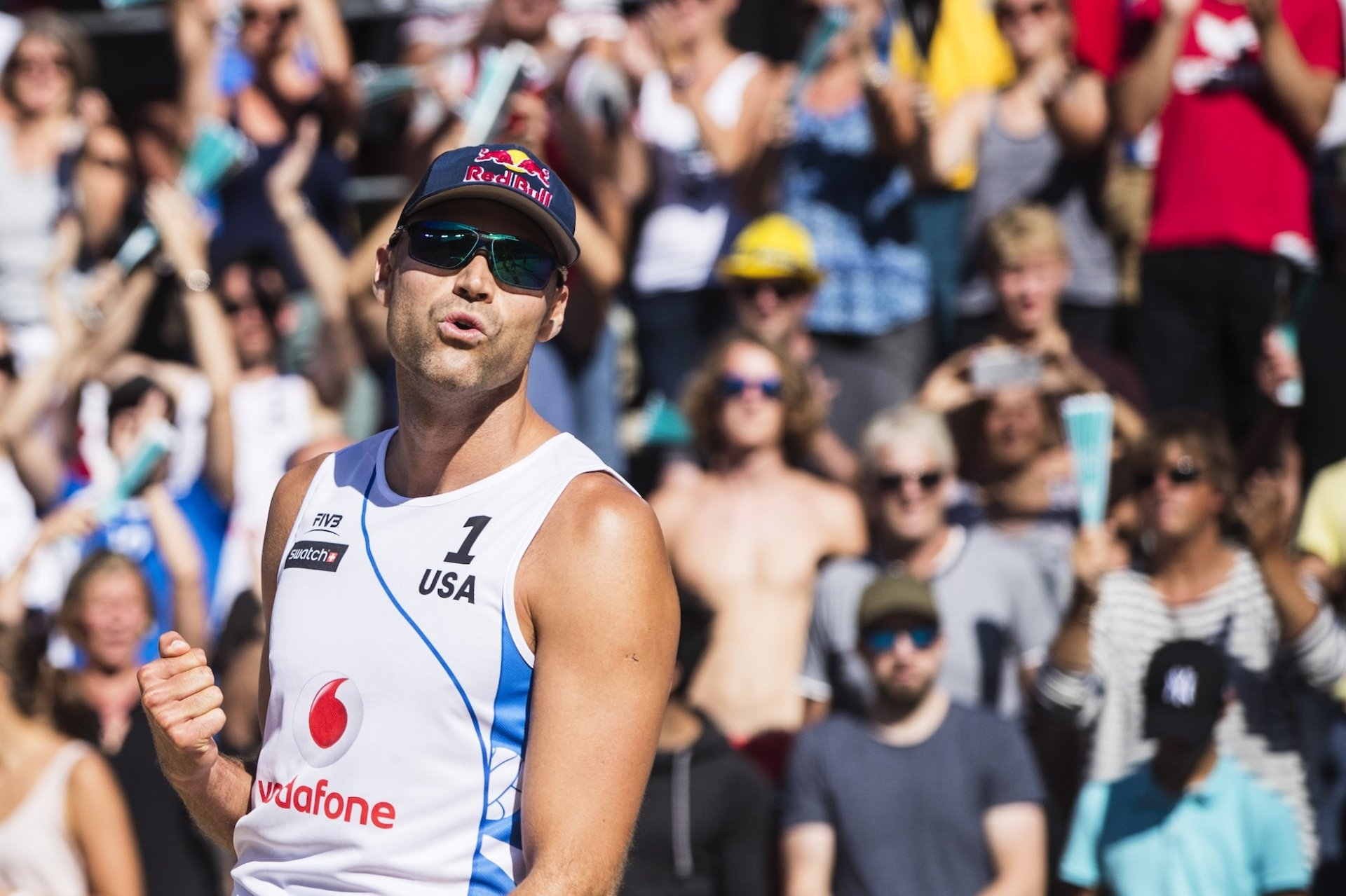 Phil Dalhausser is 38, loves chocolate and remains one of beach volleyball's most feared players