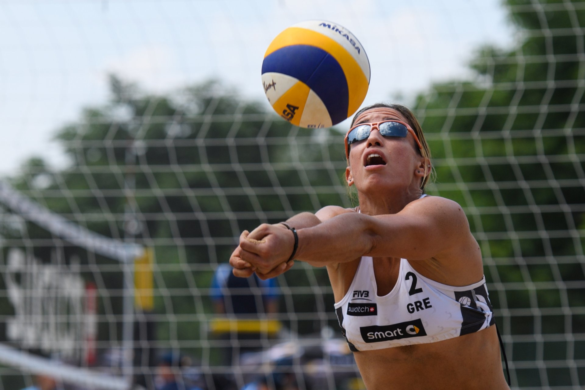 Arvaniti has last competed in the 2016 Klagenfurt Major (Photocredit: FIVB)