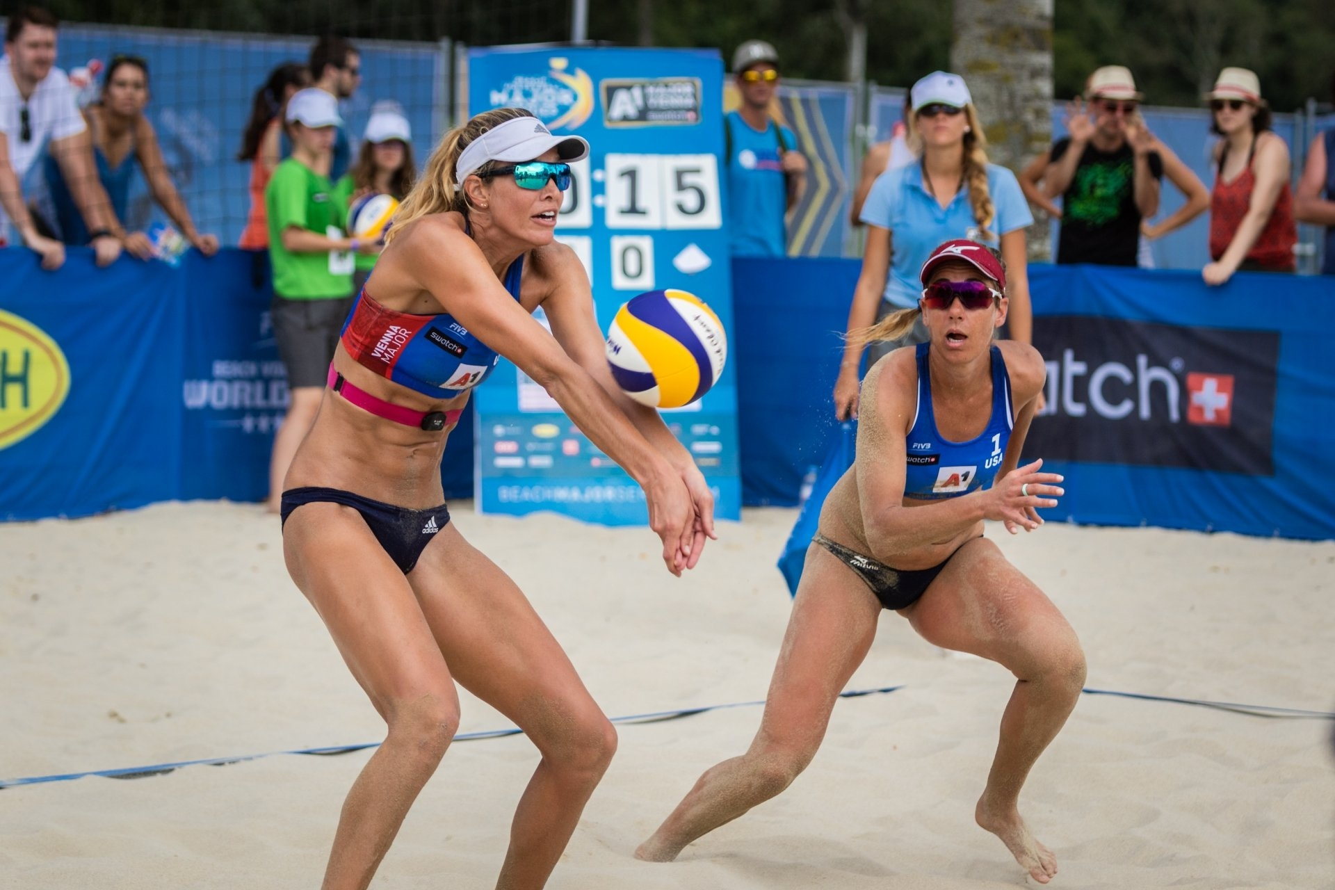 'The A-Team' of Alix Klineman and April Ross will represent the United States in Boca Chica