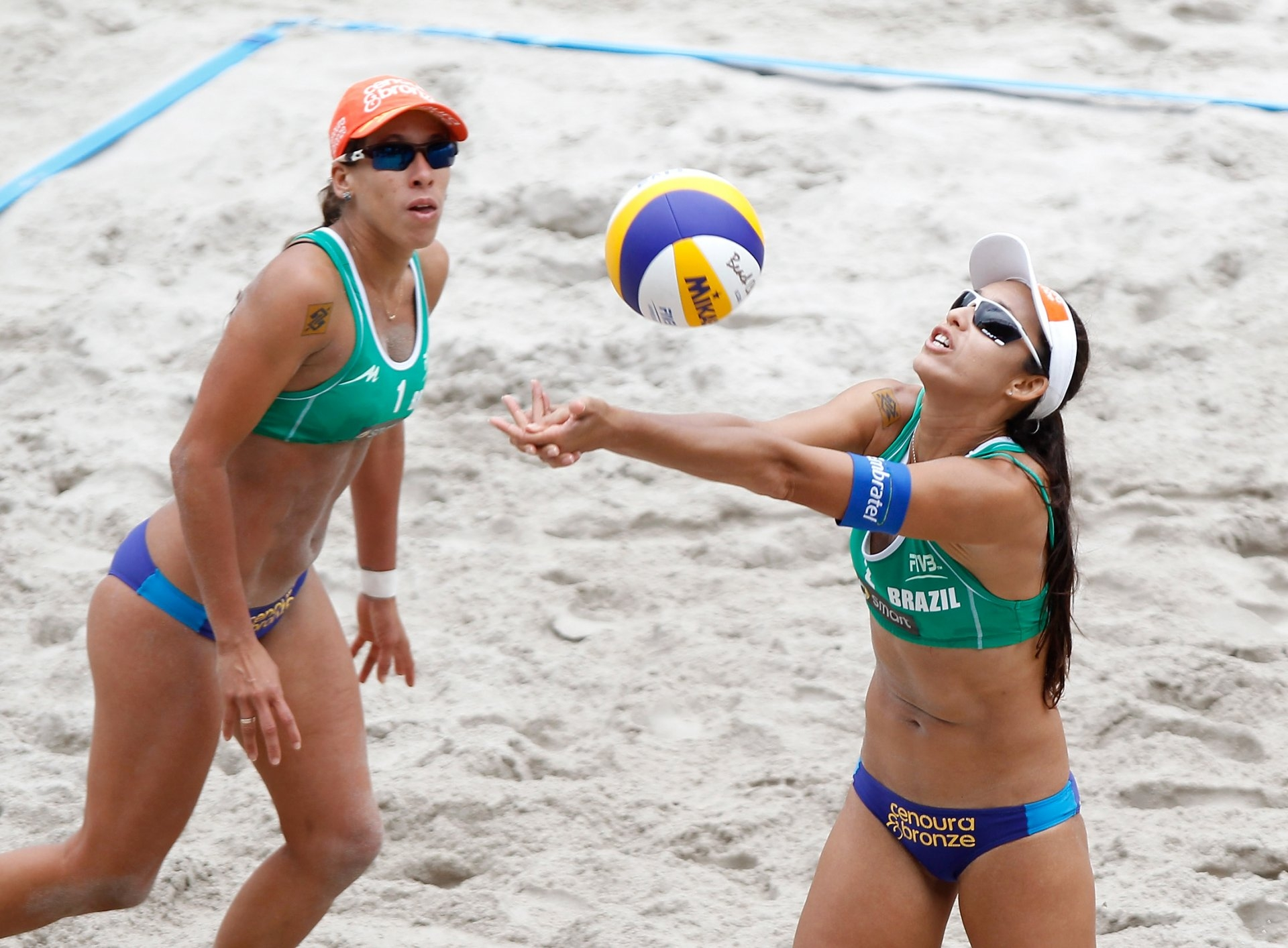 Taiana and Talita will contend for an Olympic berth at the Tokyo 2020 Games (Photocredit: FIVB)
