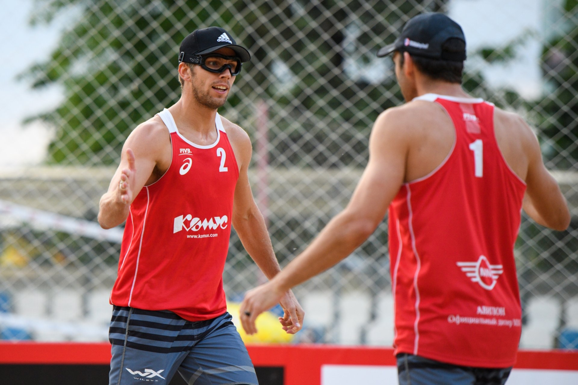 Slick and Allen will also be together again after partnering in the 2017 season (Photocredit: FIVB)