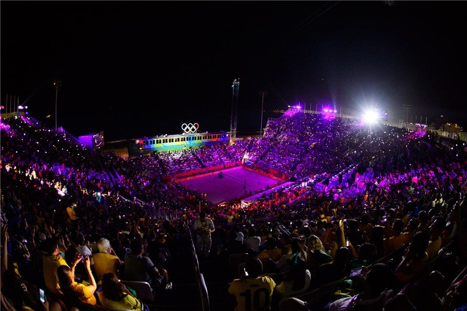 A tournament in September will distribute one Olympic berth in each gender (Photocredit: FIVB)