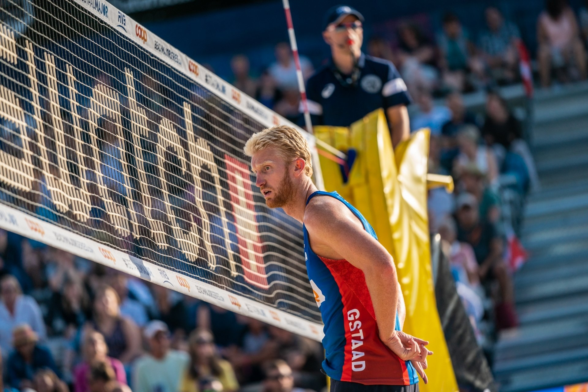 Budinger had a single appearance in the Beach Major Series in 2018, finishing 17th in Gstaad