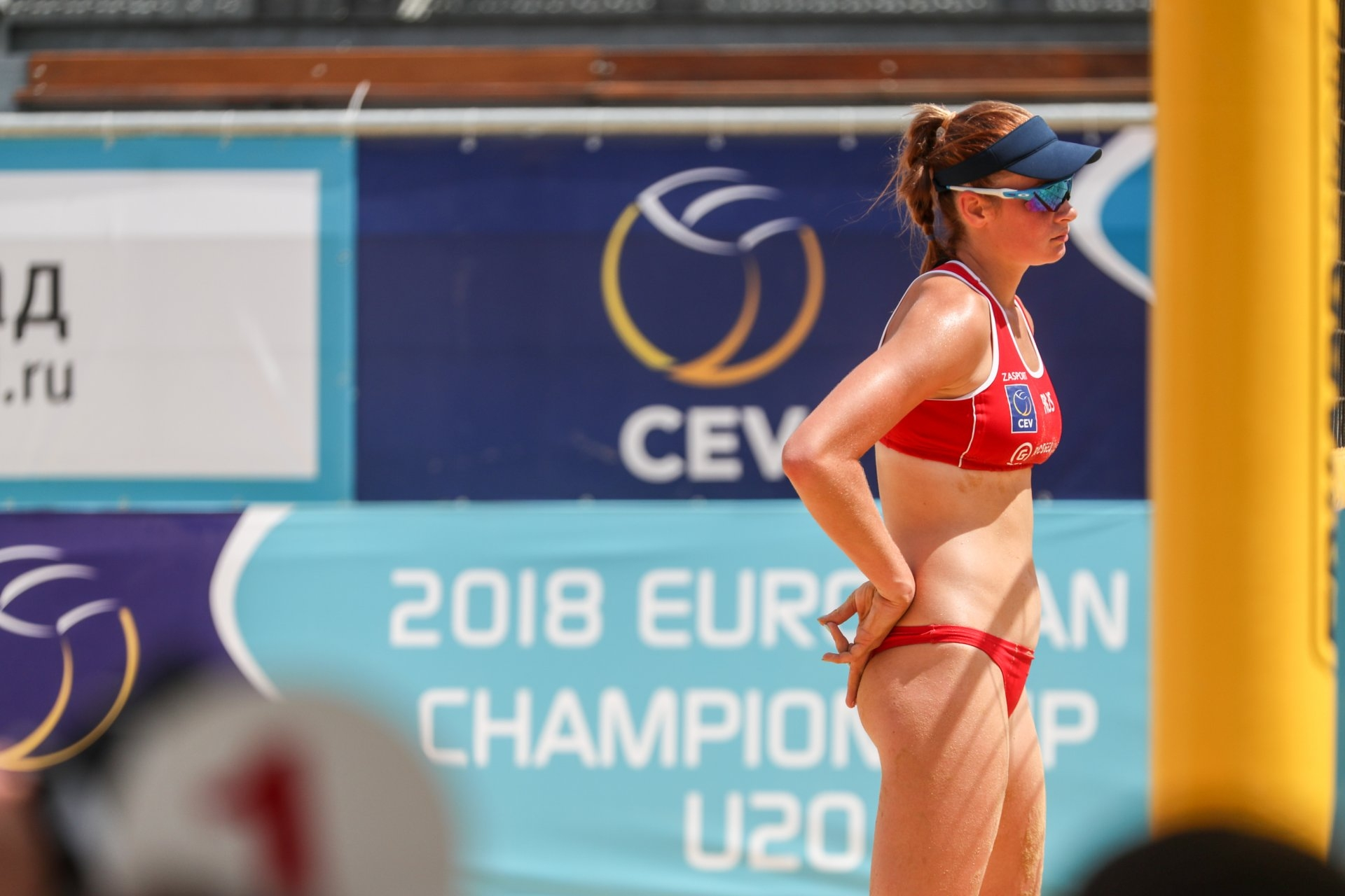 16-year-old Bocharova will try to become a World Tour regular in the upcoming season (Photocredit: FIVB)