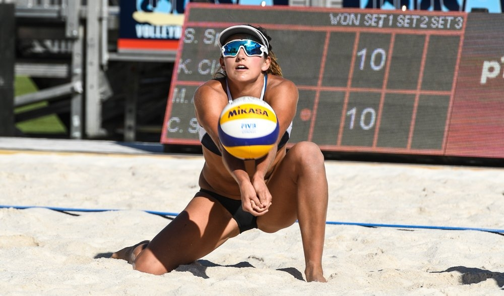 Sponcil is one of the most talented young defenders in the United States (Photocredit: FIVB)