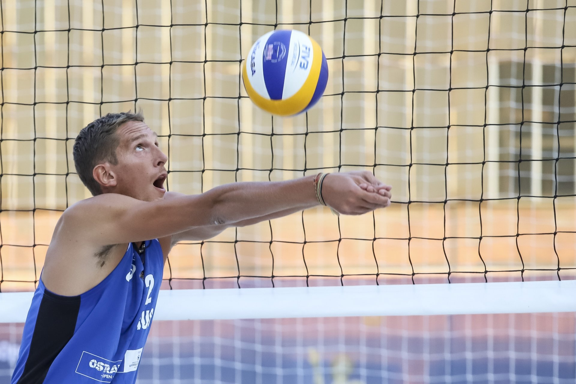 Russian star Konstantin Semenov will give snow volleyball a try (Photocredit: FIVB)