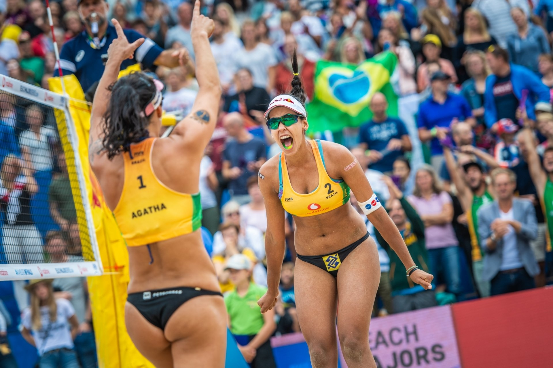 2018 World Tour Finals winners Ágatha and Duda will be among the teams fighting for Olympic qualification