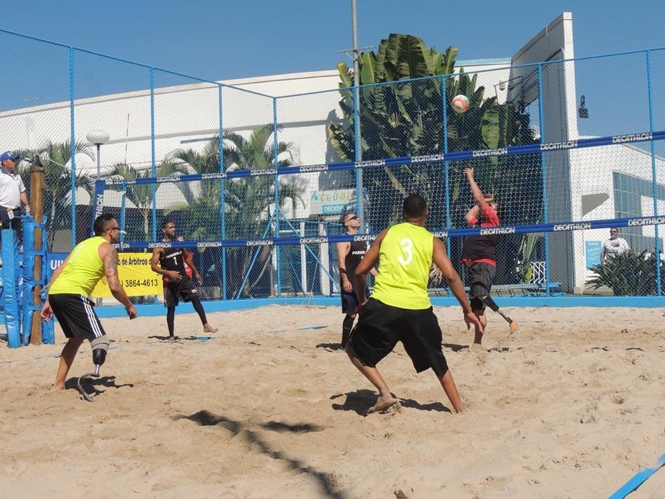 Beach ParaVolley is bidding to be included in the Paralympic Games program (Photocredit: World ParaVolley)