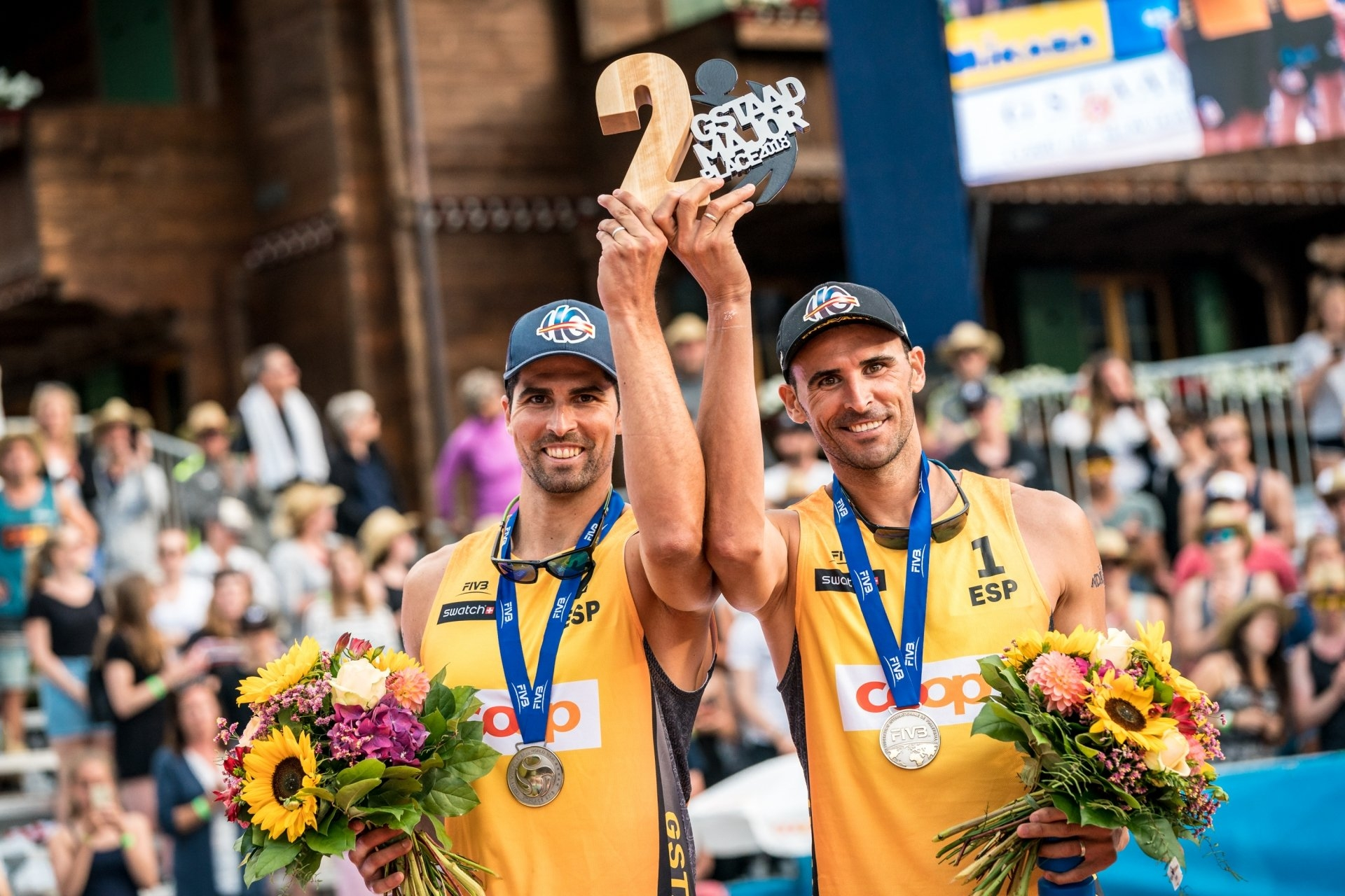 The Spaniards claimed the silver medal of last year's Gstaad Major