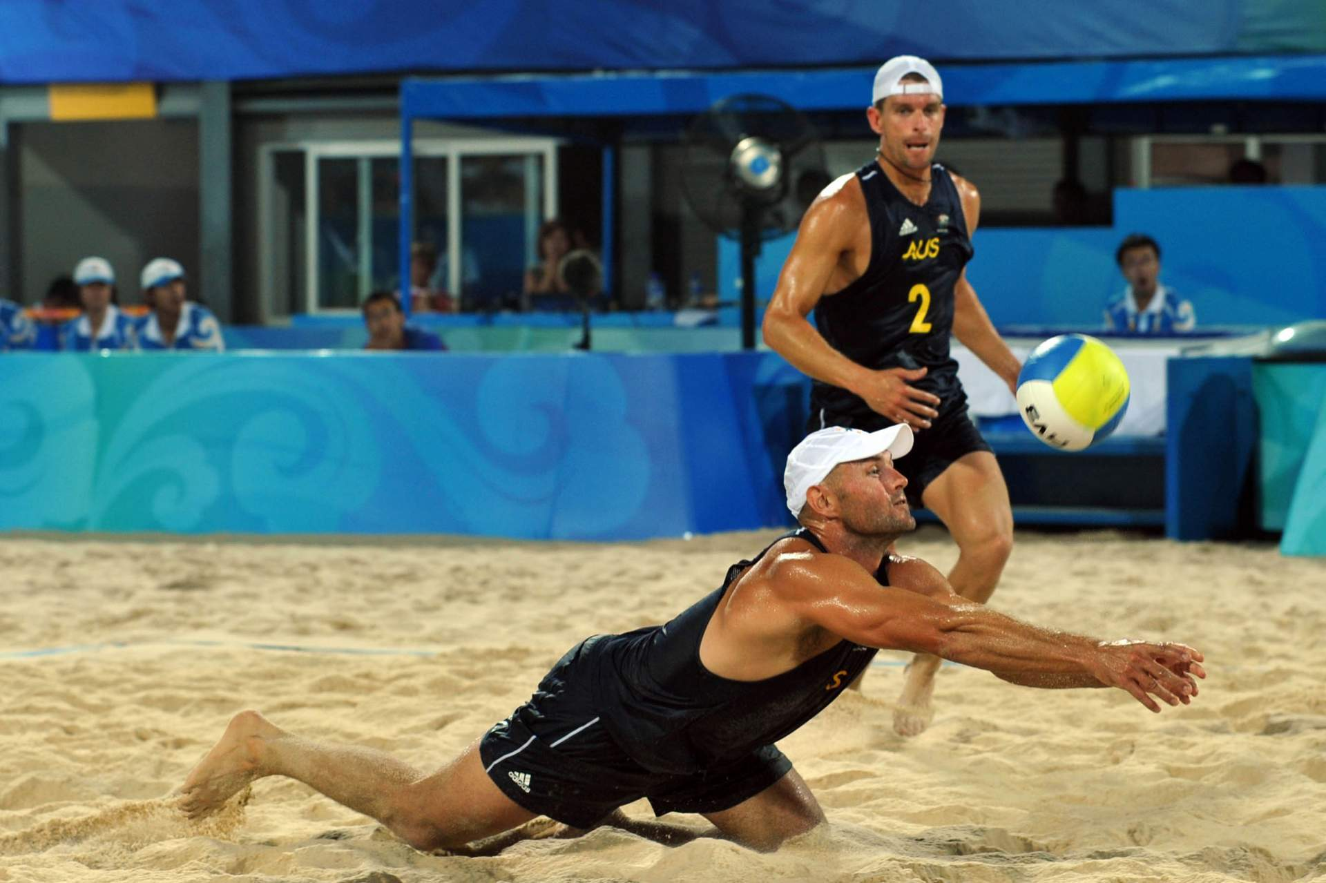 Australian Andrew Schasht retired after the Beijing 2008 Games (Photocredit: FIVB)