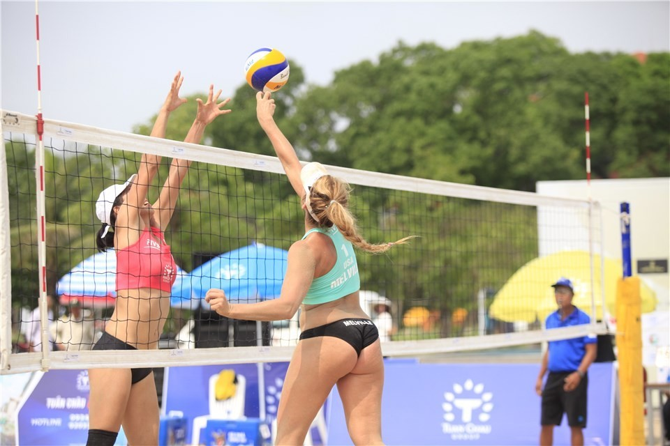 Female teams from 14 countries are playing in Vietnam (Photocredit: FIVB)