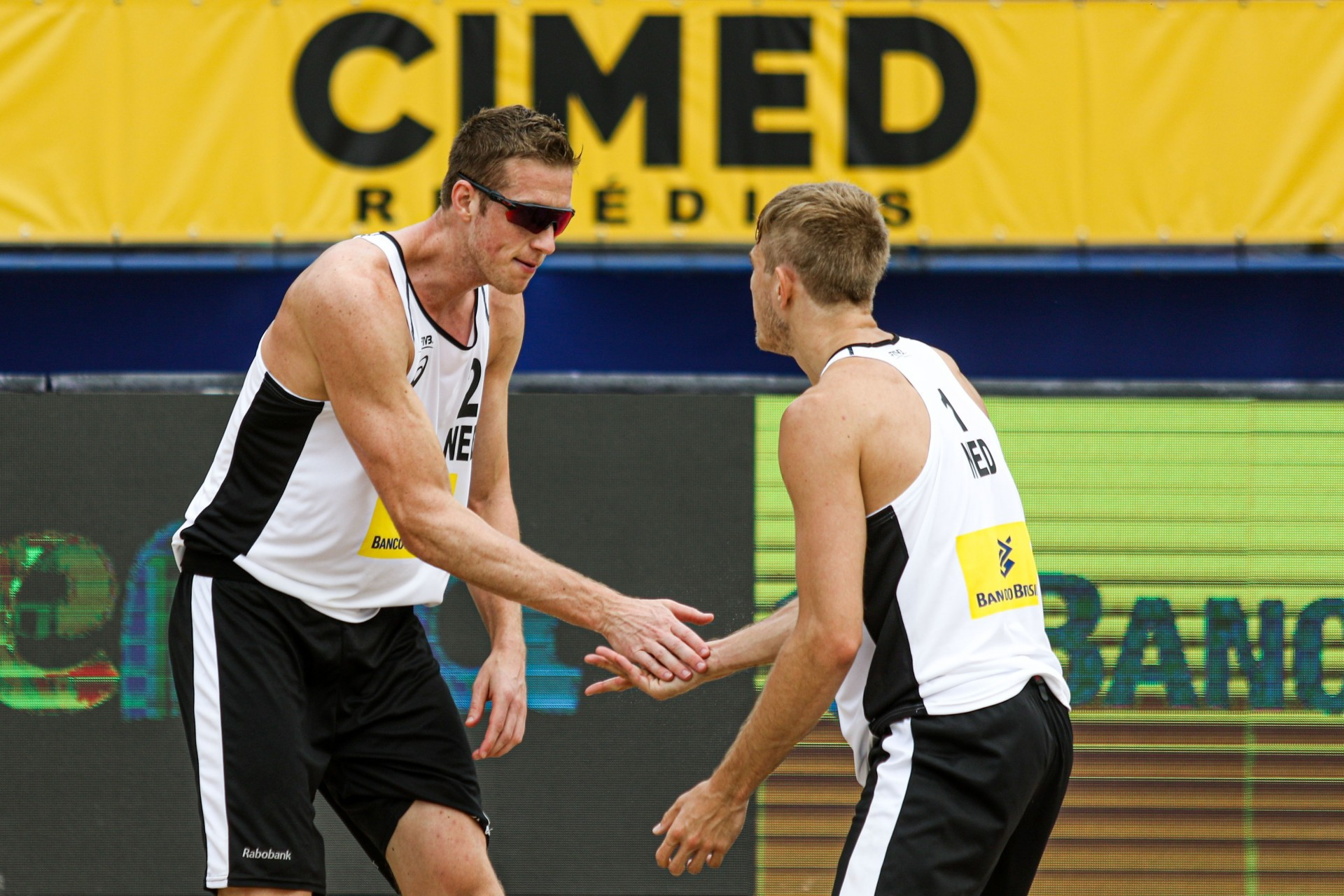 Varenhorst and van de Velde are fresh from a bronze medal at the World Tour event in Itapema (Photocredit: FIVB)
