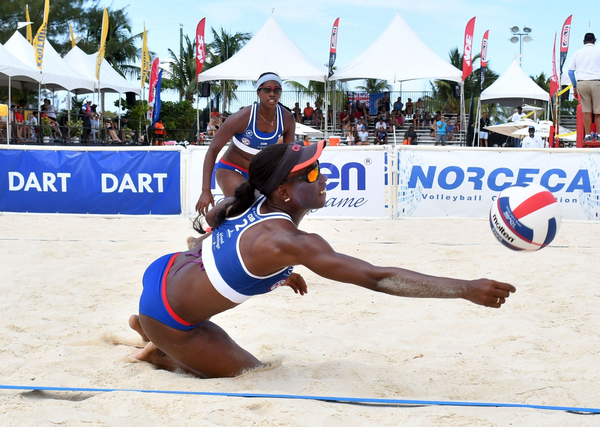 Cubans Leila and Mailen will compete in China for the second-straight week (Photocredit: FIVB)