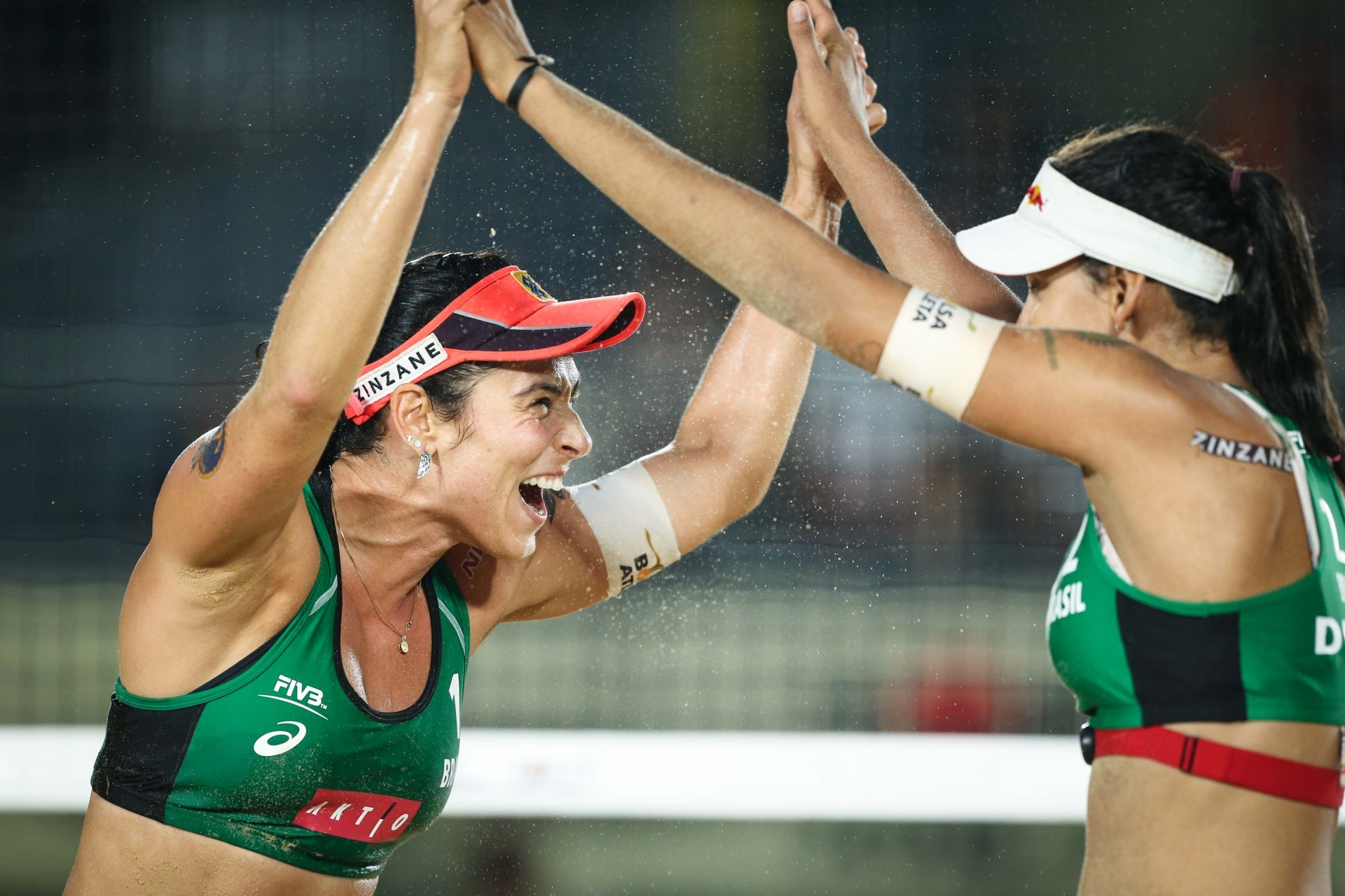 Ágatha and Duda downed Klineman and Ross in the Tokyo gold medal match (Photocredit: FIVB)