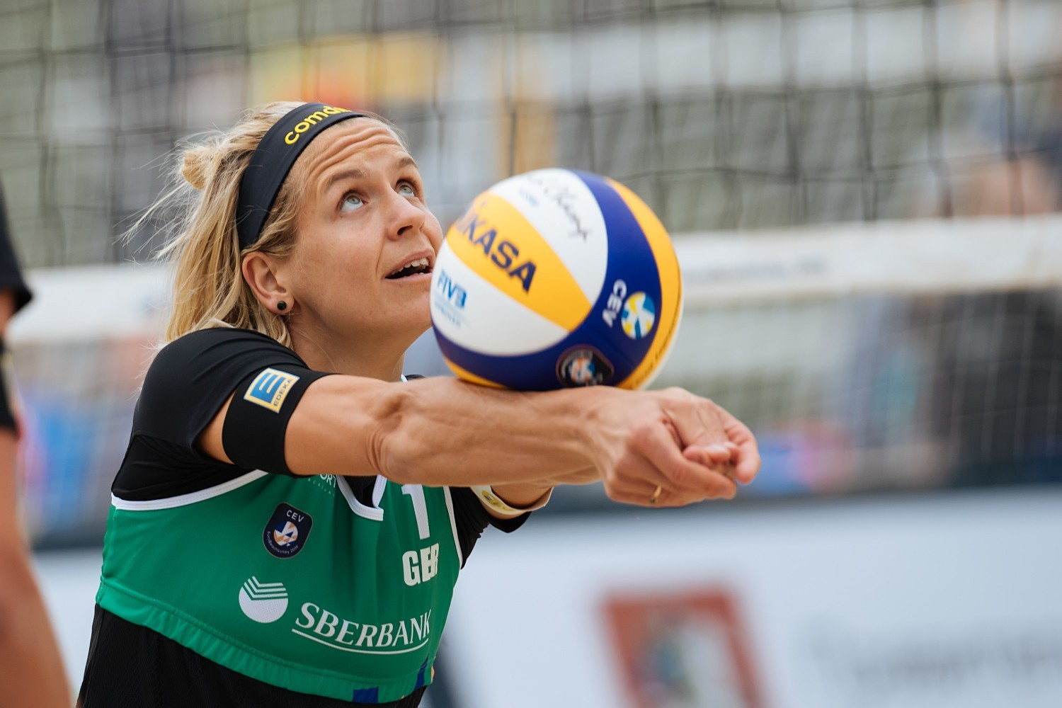 German star Laura Ludwig is a four-time European champion (Photocredit: CEV)