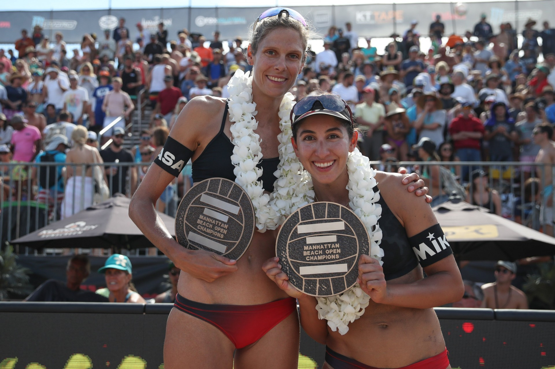 Sarah and Melissa extended their great form with a title in California (Photocredit: AVP)