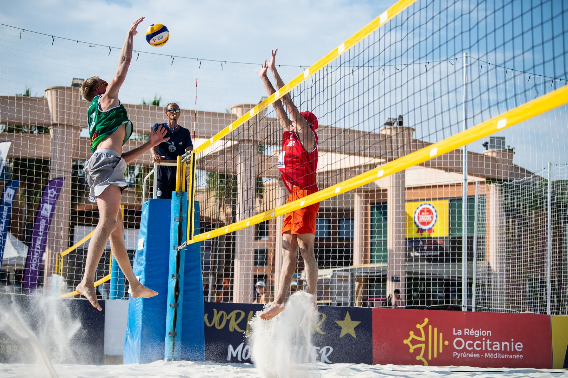 Montpellier is hosting a World Tour event for the third-straight season (Photocredit: FIVB)