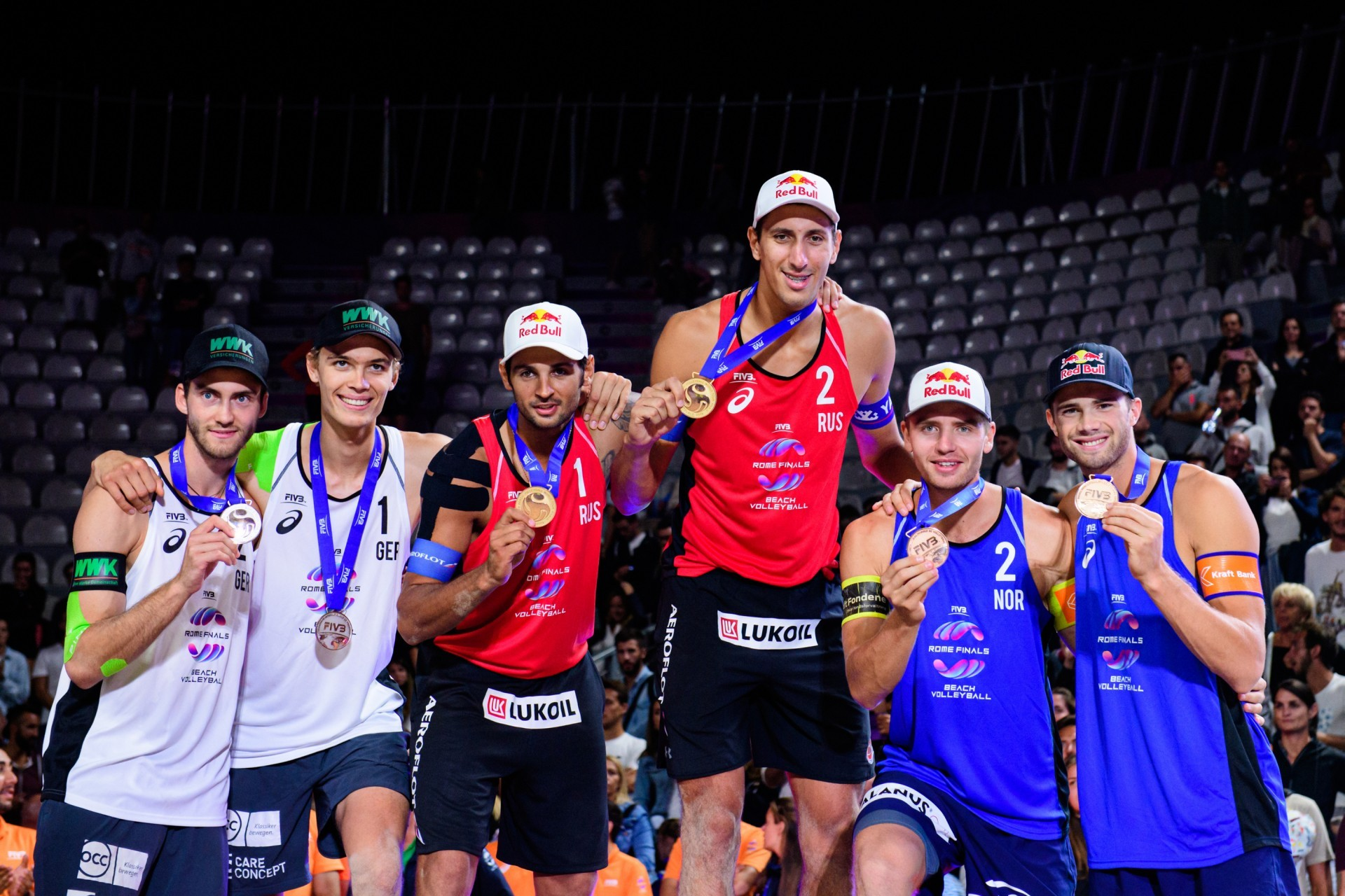 The medalists of the World Tour Finals were the same ones of the World Championships (Photocredit: FIVB)