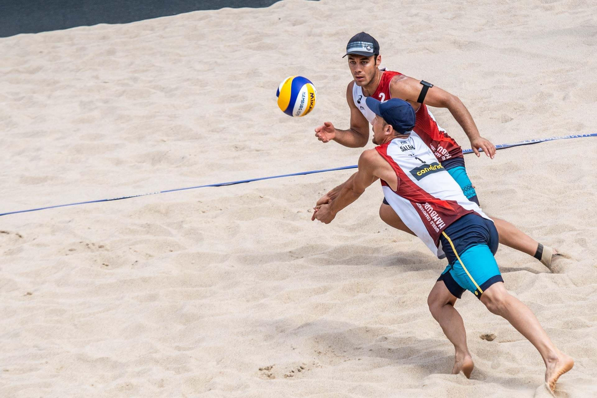 After playing at the World Championships, Vakili and Salemi represent Iran at the Continental Cup