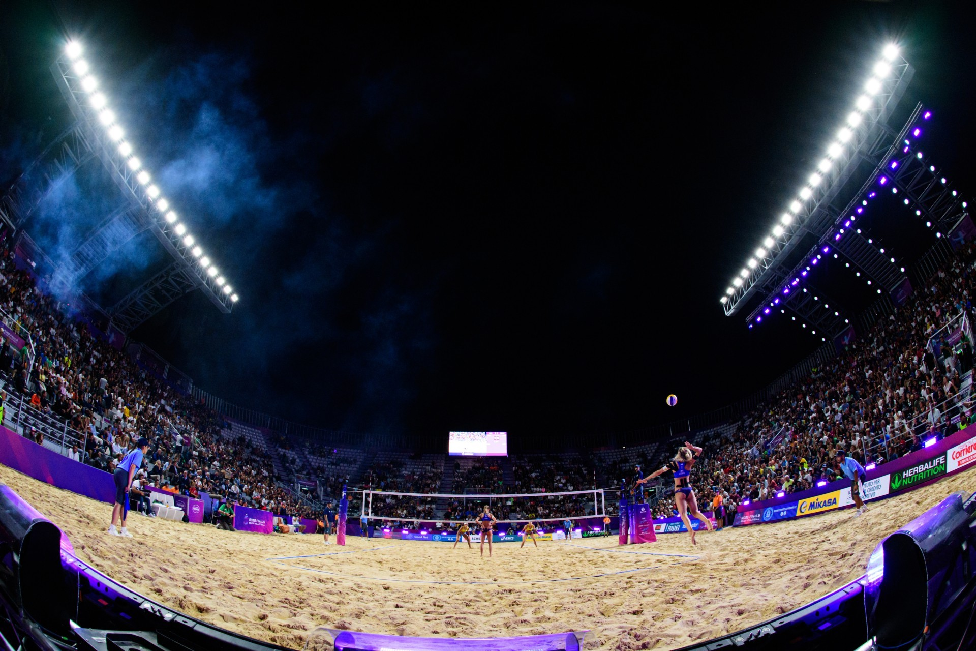 Rome hosted the World Tour Finals last year