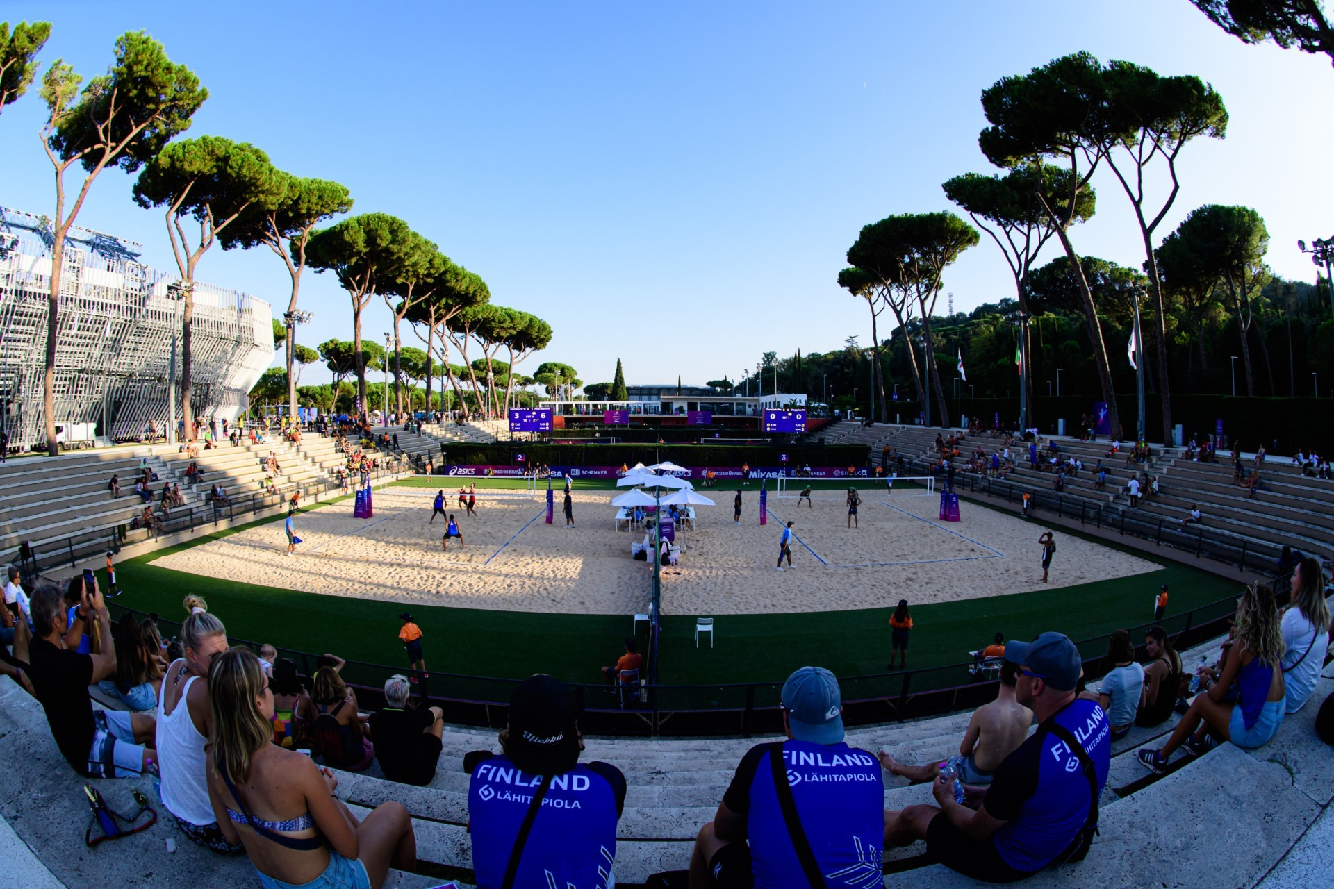Rome hosted the 2019 World Tour Finals last September