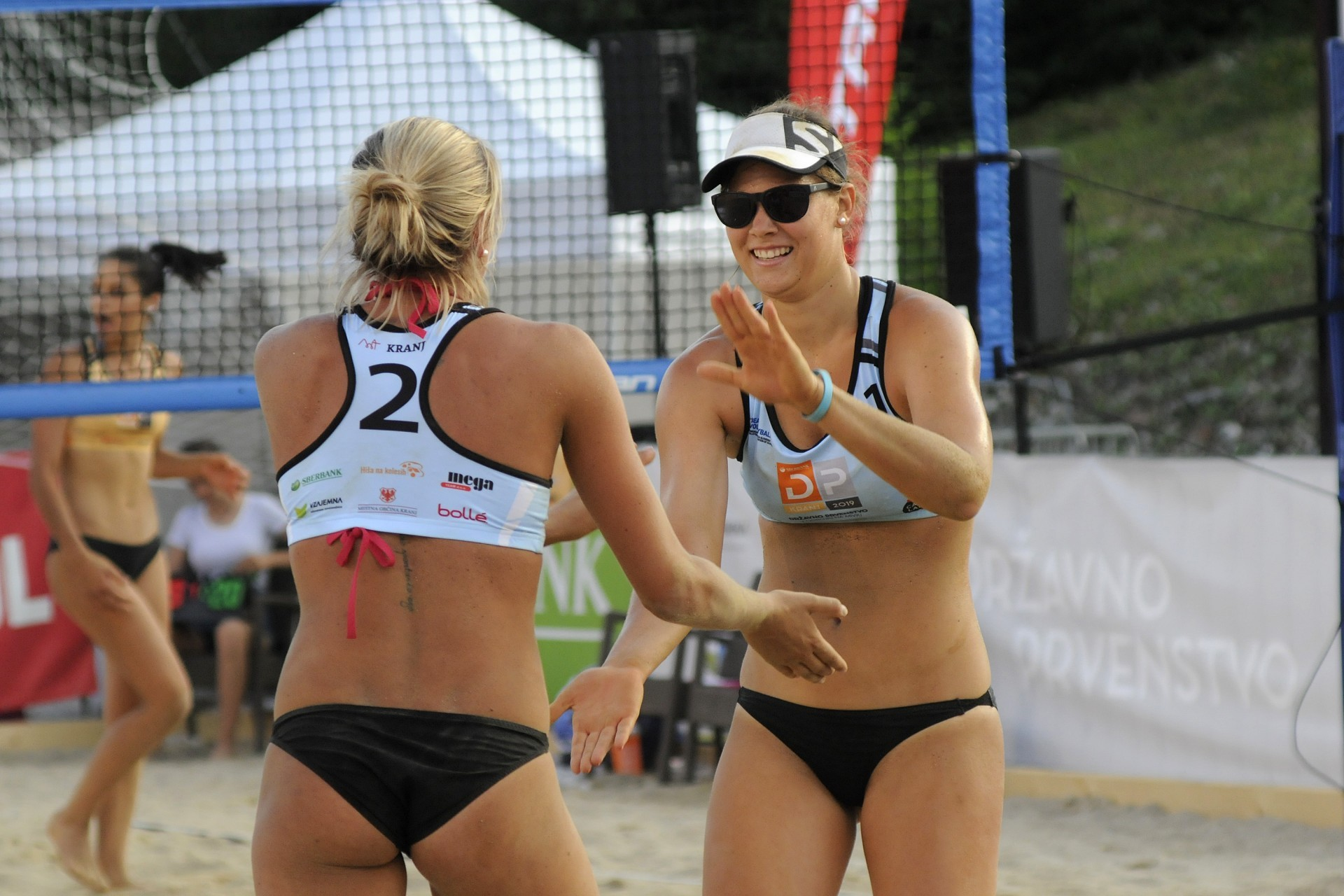 Beach volleyball players from Slovenia will be able to return to the sand next month