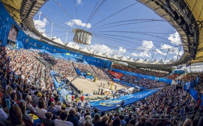 Hamburg treat for beach volleyball elite!
