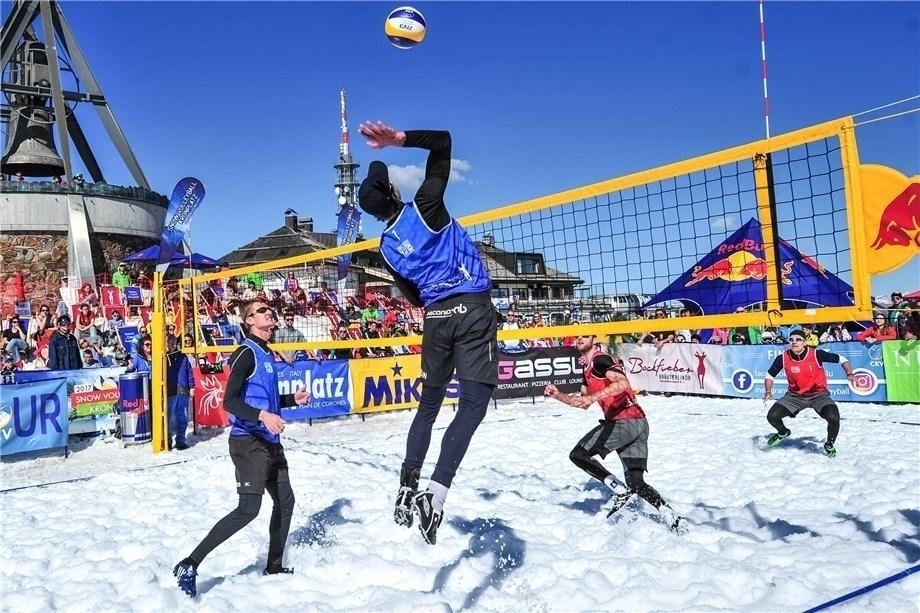Snow Volleyball will be presented to the Olympic world in PyeongChang (Photocredit: FIVB)