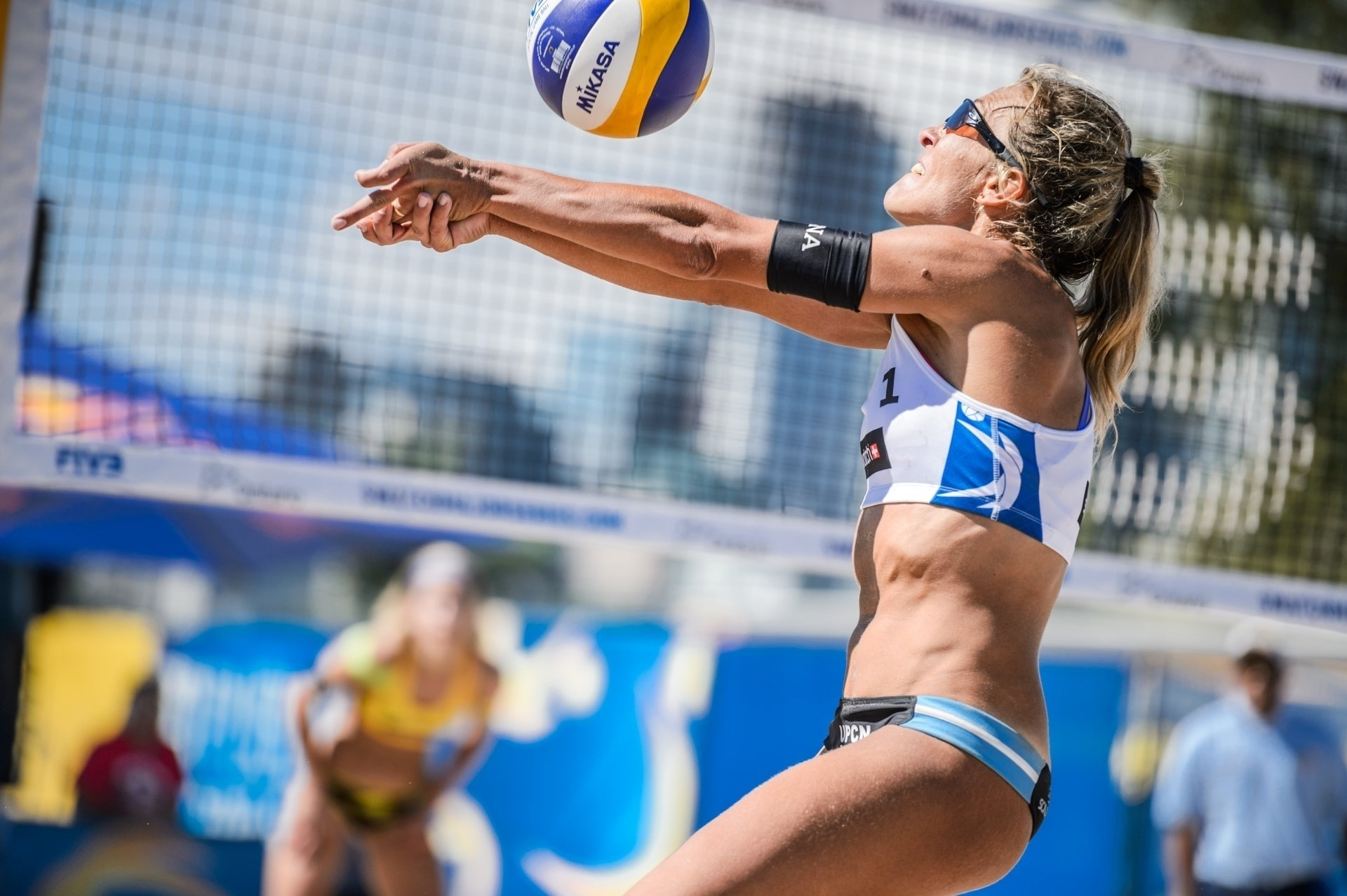 Two-time Olympian Ana Gallay of Argentina is one of the stars of the South American Tour in Rosario