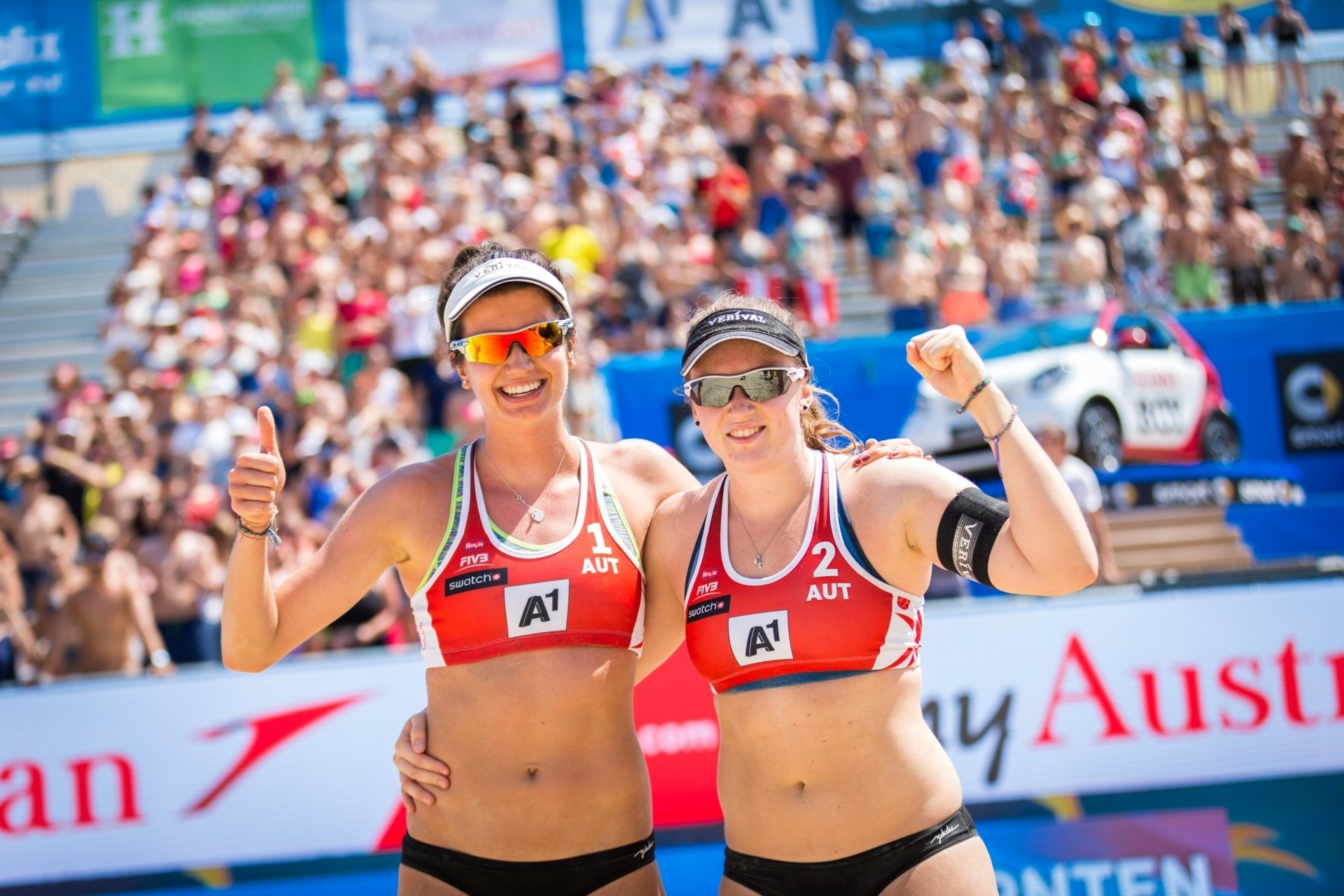 Lena and Kathi won their first ever World Tour gold in Turkey - congratulations girls!