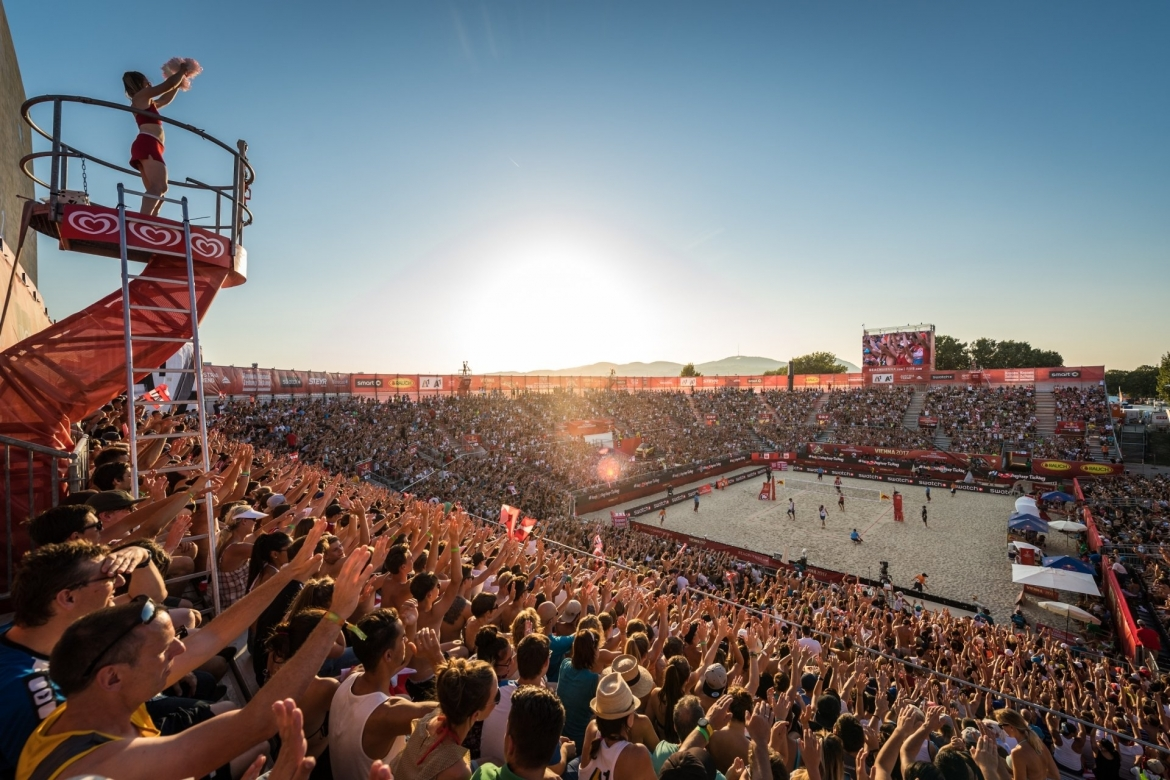 The 2017 World Championships in Vienna was one the biggest beach volleyball tournaments in history