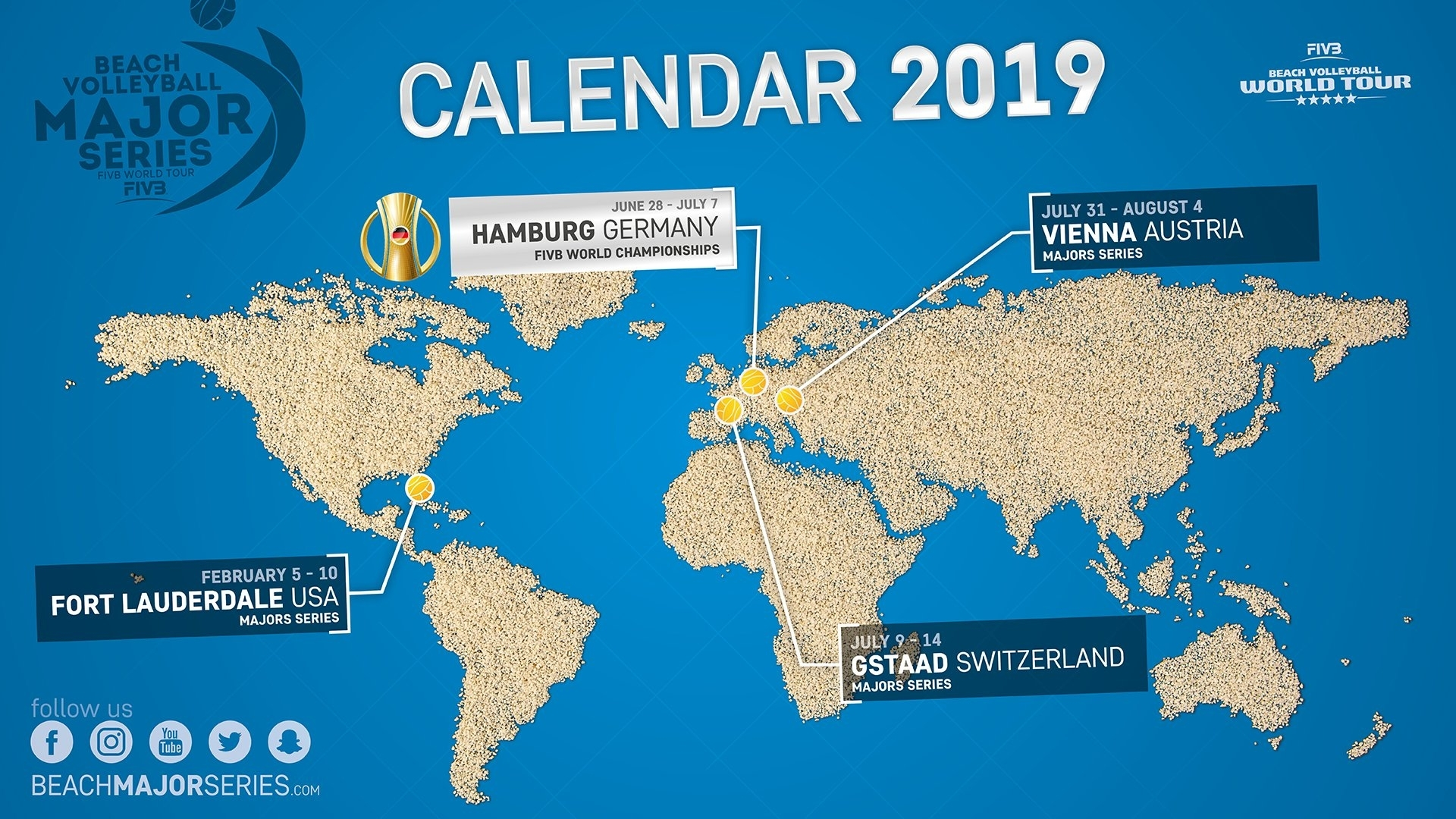 Calendario Contest Hf 2020.2019 Beach Volleyball Major Series Calendar Revealed