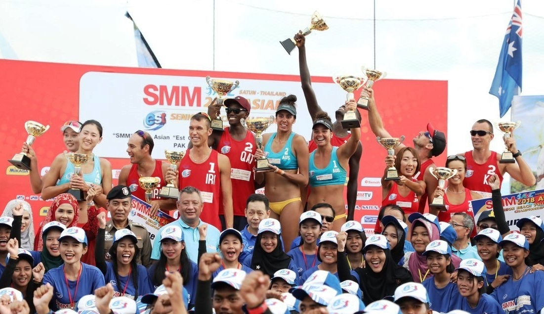 Australians and Qataris topped the podium in Satun (Photocredit: AVC)