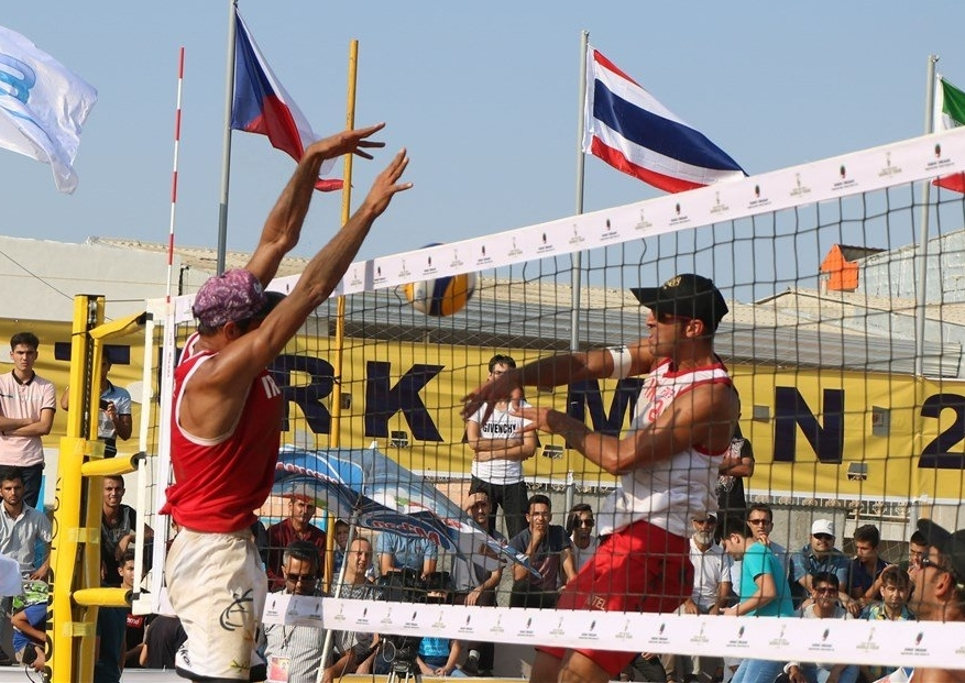 Iran advanced two teams for the final in Bandar Torkaman (Photocredit: FIVB)