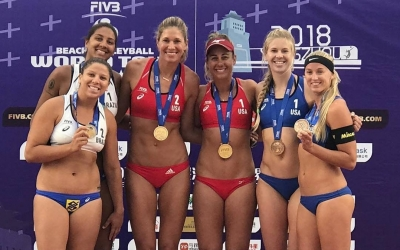 USA and Russia scoop Yangzhou golds