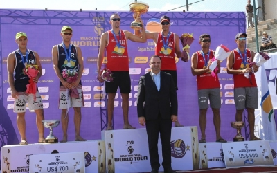 First World Tour gold for Kazakhstan