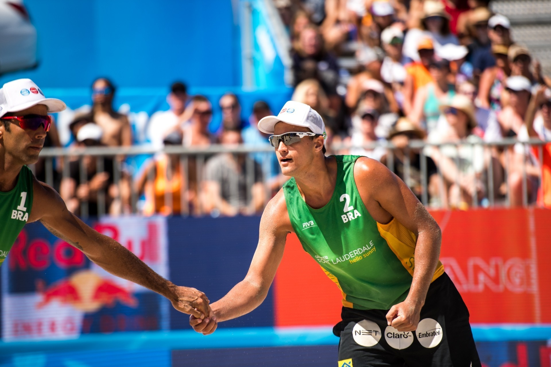 George Wanderley, will team-up with André following the latest shake-up in Brazilian beach volleyball