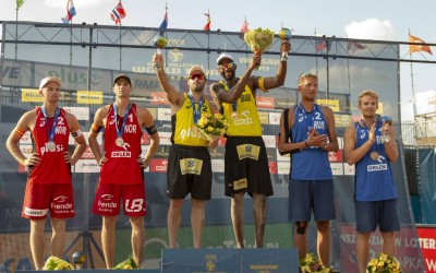 Evandro and Bruno dethrone the Vikings