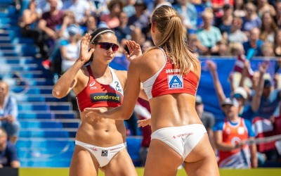 European champs win in home sand