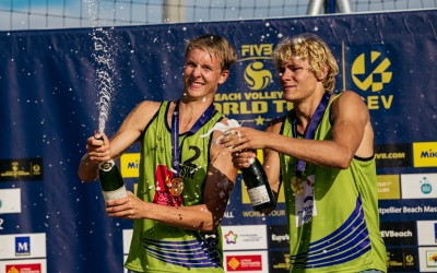 Young Swedes Claim First World Tour Title