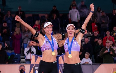 Joana and Anouk Secure Continental Title