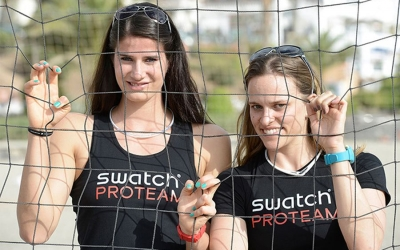Swatch Proteam Athletes joined the kick off press conference