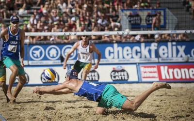 U.S. Men's Beach Power Duo Call it Quits