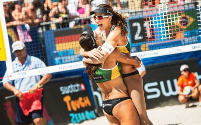 Larissa named top player of World Tour 2015