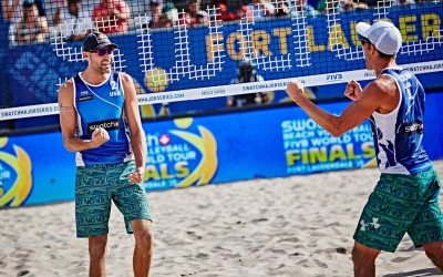 Canadian and US Swatch Major Series heroes triumph at North American beach volleyball circuit