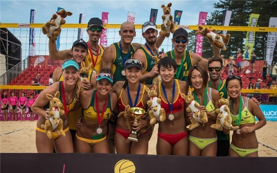 Australia and China claim Gold at Asian Championships