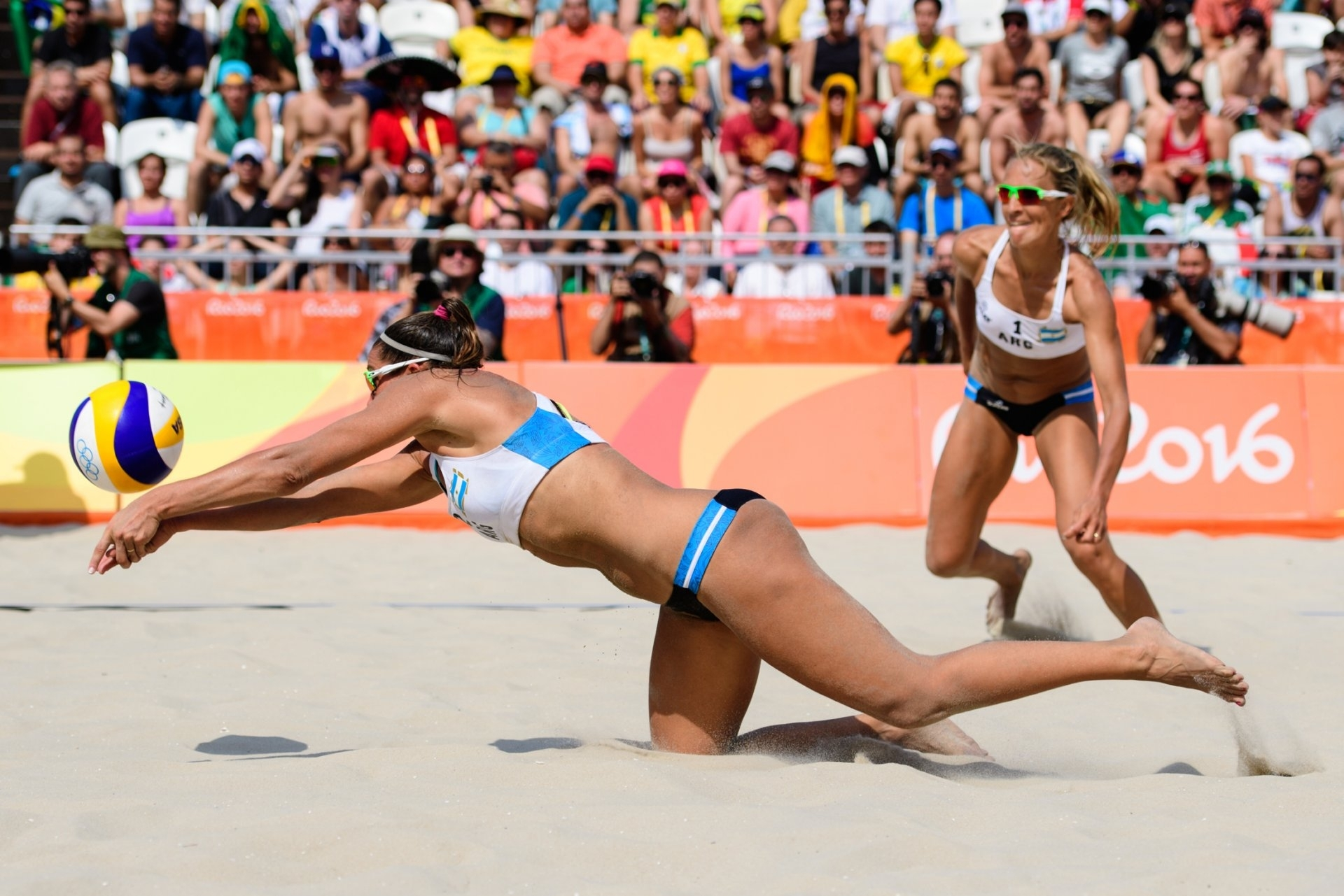 Gallay/Klug in action at the 2016 Rio Olympics