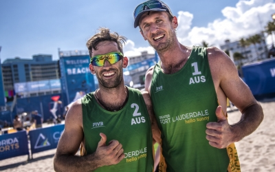 Aussies out to conquer the world