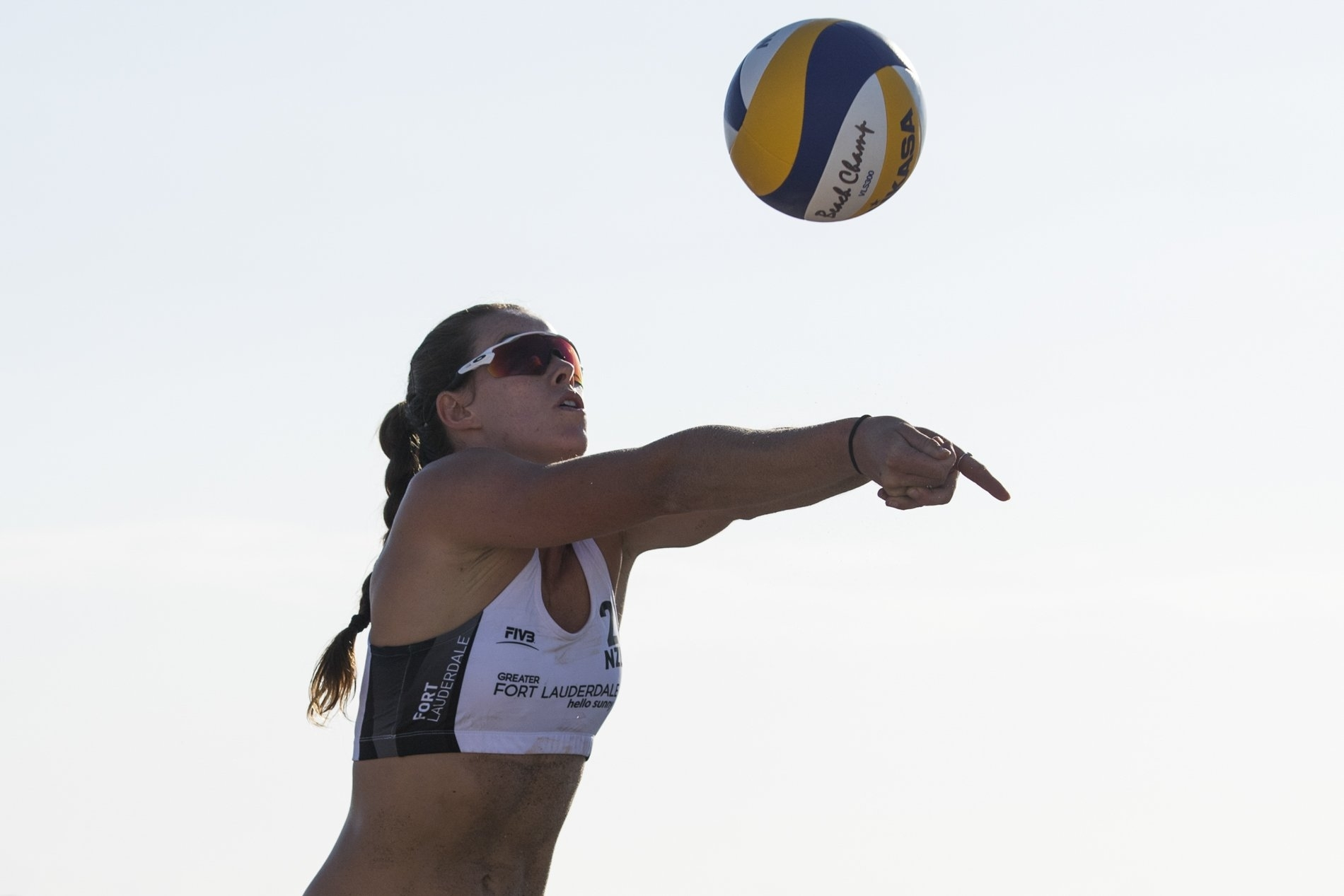 Shaunna Polley in action at the Fort Lauderdale Major